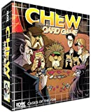 Chew is a light-hearted and zany card game based on the Eisner Award winning comic book by John Layman and Rob Guillory. Players will acquire evidence, enlist allies and sabotage friends in an effort to be the first to close their investigation. And ...