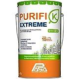 Impermeabilizante Blanco para Techos, 10 a 15 años, 26 Litros, Limpia el Aire y Elimina Bacterias, Purifi-k Extreme