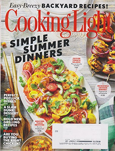 Cooking Light July 2016 Simple Summer - Summer Dinner Mist