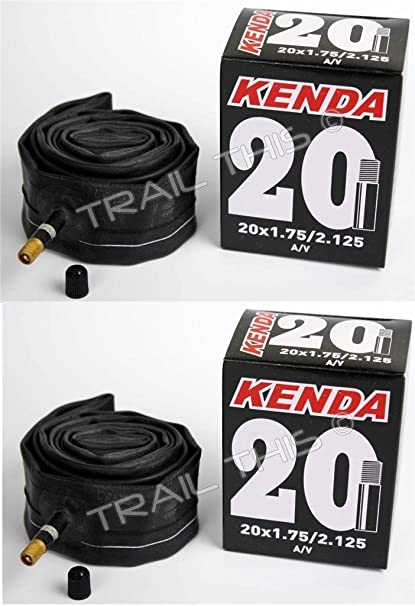 20 x 1.75-2.125 Schrader Valve Bicycle Tube