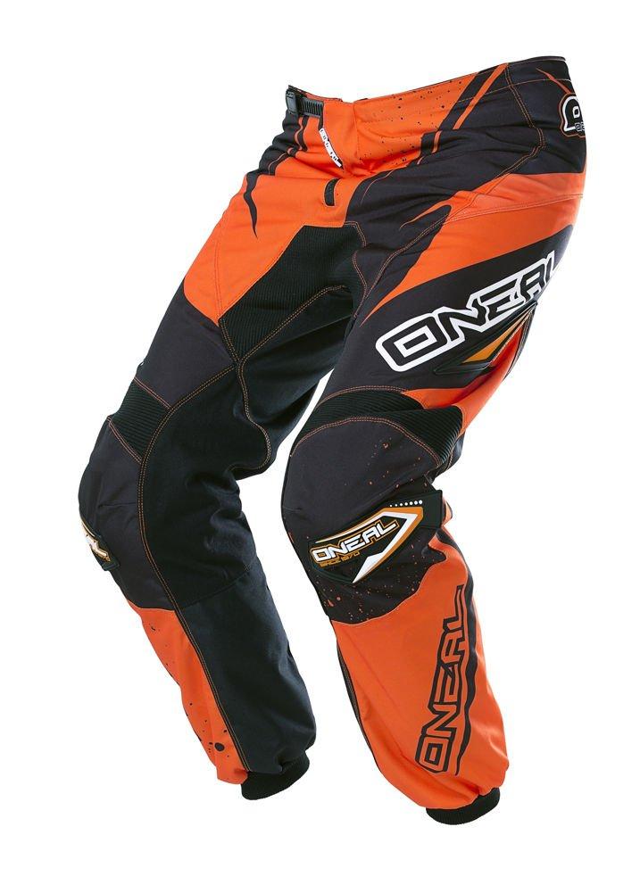 O'Neal Element Racewear Pants (Black/Orange, Youth 8/10)