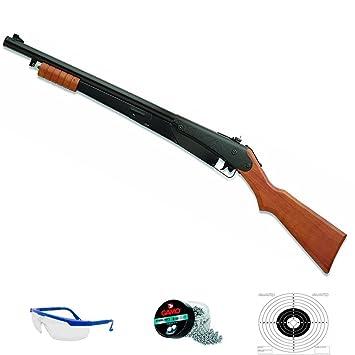 PACK escopeta de balines Daisy 25 PUMP GUN - Sistema: aire comprimido (muelle)