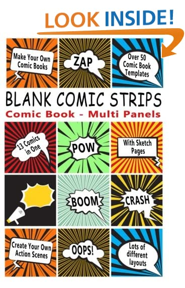 Comic Book Template: Amazon.Com