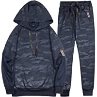 MANTORS Men's Camouflage Hooded Athletic Tracksuit Casual Jogging Gym Sweat Suits