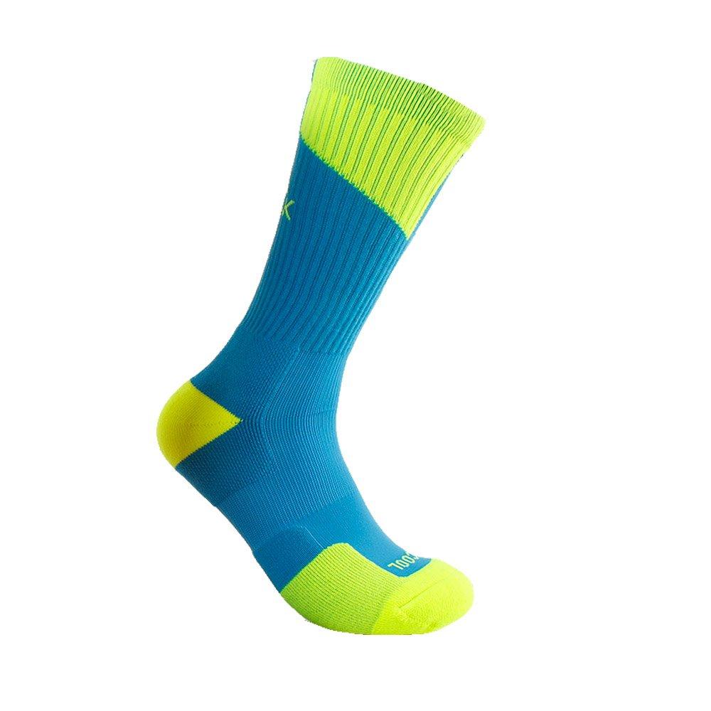 Peak SOCKSHOSIERY メンズ B01BF22QKI Blue/Fluorescent Green M