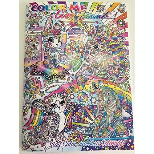 outlet Color Me Lisa Frank Coloring Book - realevaluation.com