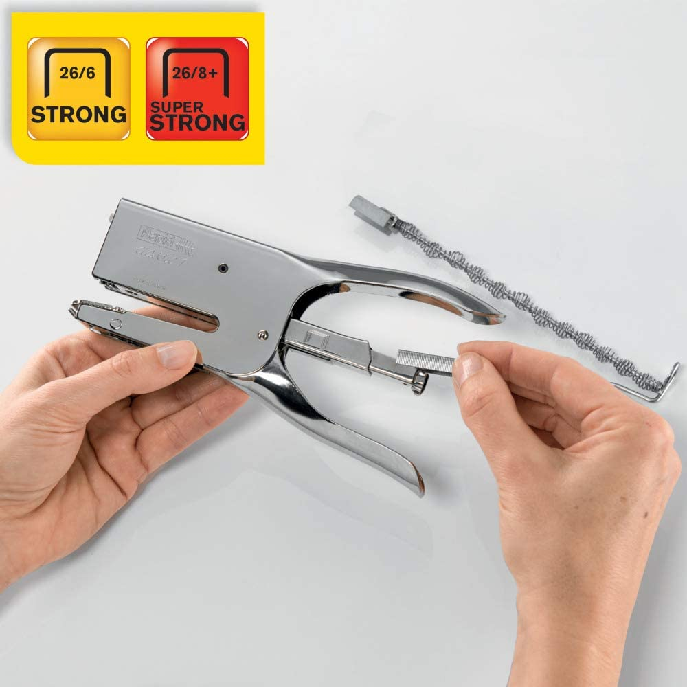 Pinzatrice metallo Rapid Classic K1 10510602 Capacit/à 50 fogli Colore Cromo Tipo di punta 26