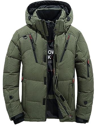 wholesale dealer b43dc 7b023 Vogstyle Herren Daunenmantel Warm Daunenparka Winter Mantel Outdoor  Verdickte Steppjacke Jacke Parka