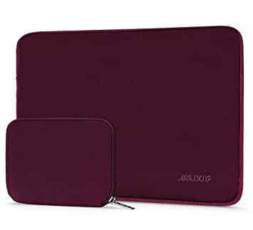 Notebook Computer with Small Case MOSISO Laptop Sleeve Bag Compatible 15-15.6 Inch MacBook Pro Baby Pink Water Repellent Neoprene Cover Carrying