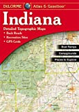 Indiana Atlas & Gazetteer (Delorme Atlas & Gazetteer)