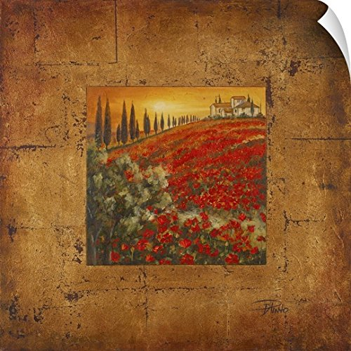 Canvas on Demand Patricia Pinto Wall Peel Wall Art Print entitled Bella Toscana II (Bella Tuscany Prints)