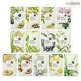 [the SAEM] Natural Facial Mask Sheet 21ml Combo Set (13 Pack)