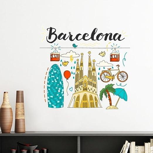 Barcelona España sagrada familia extraíble de pared Adhesivos de ...