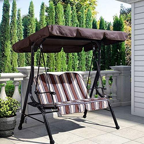SFGHOUSE - Funda de repuesto para silla de jardín (195 x 125 x 15 cm), color verde oscuro: Amazon.es: Hogar