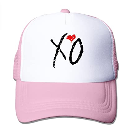 fa7be396fcd Amazon.com  Pink The Weeknd X Drake Xo Ovo Snapback Hats Baseball Hat   Sports   Outdoors