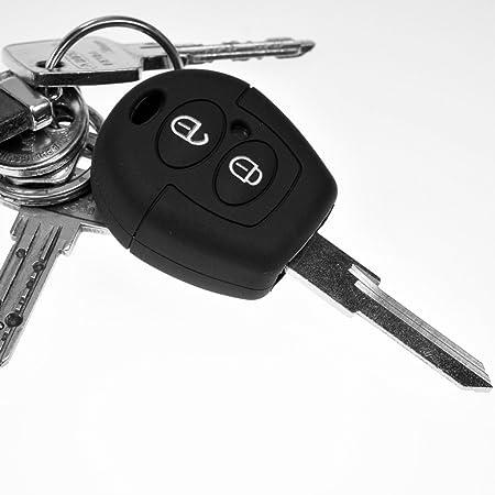 Soft Case Schutz Hülle Auto Schlüssel Schwarz Für Vw Elektronik