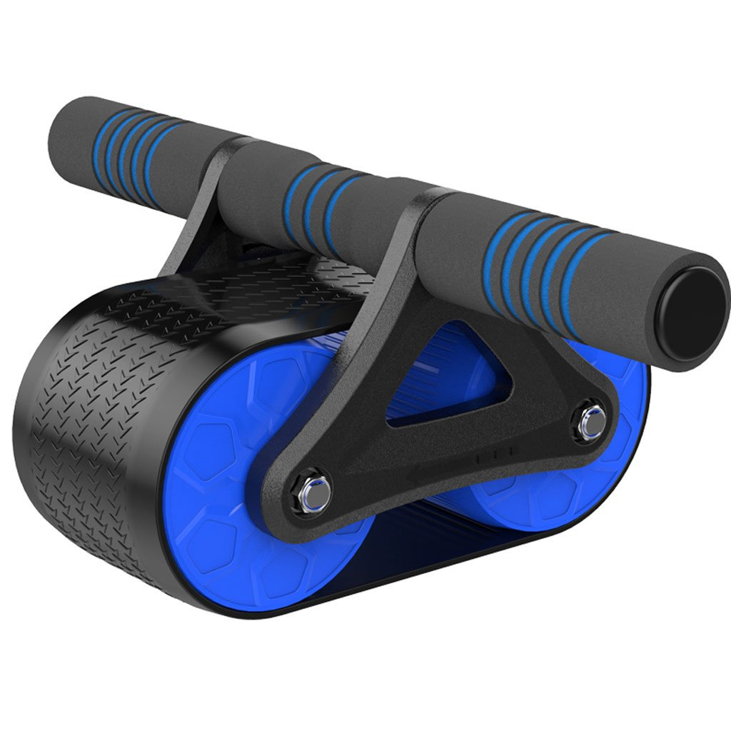 Big seller AB Roller Doppel-Bauch-Rolle Sportrad und Kniepolster mit Softgriff für Core-Fitness-Übungen für Bauch/Muskeln. AB Roller Bauchtrainer
