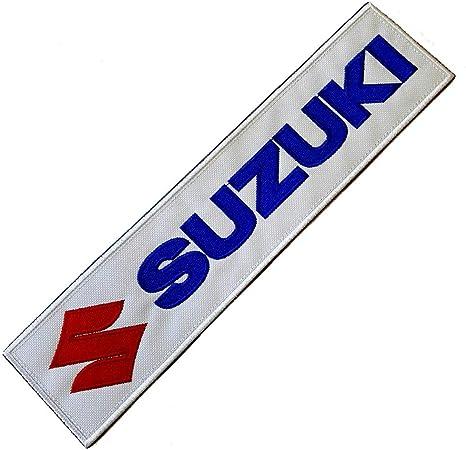 MOT198 Suzuki parche bordado para planchar o coser a Kart ...