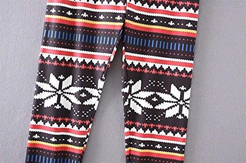 Leggings Pantaloni Colour 3 Autunno Invernali Donna Pattern Casuale Matita Elastico Stampato Libero Collant Vintage Pantaloni A Donne Fashion Eleganti Tempo Battercake Skinny 6xngRdwq6