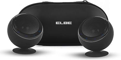 Elbe ALT-41ES-BT - Pack de 2 Altavoces portátiles (estéreo ...