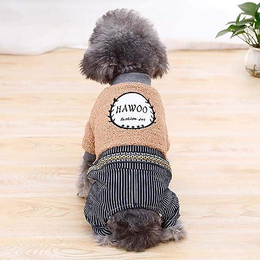 Fat.chot Jersey para Perros y Gatos, Abrigo y Chaqueta de algodón, Ropa y Accesorios para Perro y Gato, calentados en otoño e Invierno 2020, Nuevo n.º 9: Amazon.es: Productos para mascotas