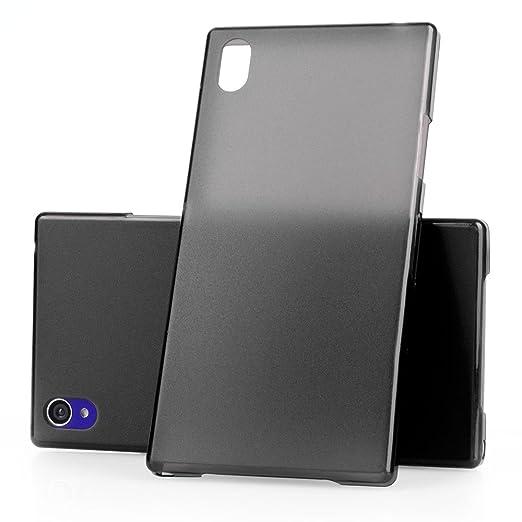69 opinioni per Ultra Thin Case MC24® per Sony Xperia Z1 in nero- sottile custodia protettiva