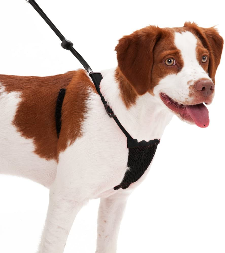 No pull and No choke humane Design Dog Harness Patented Dog Pull Control Technology by Sporn Easy Step-in Adjustable Mesh Harness for control Non Pulling Pet Harness with Mesh vest