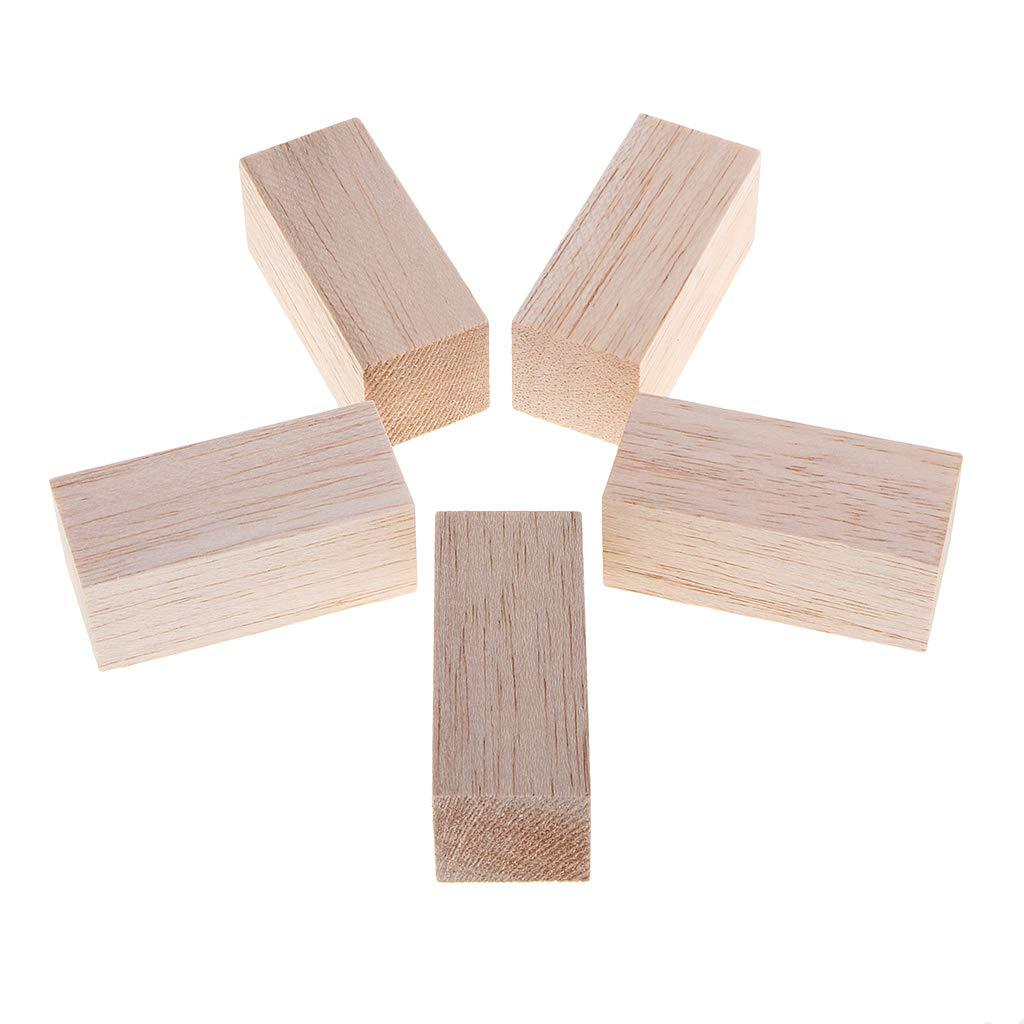 70 mm B Baosity 3//5 St/ück Balsaholz Bl/öcke DIY Modellier Handwerk Holzwerkstoffe Holz