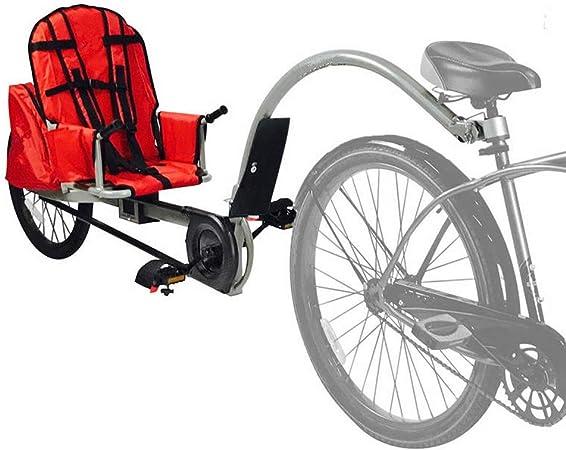QWERTOUY Traje de Remolque de Bicicleta para niños para niños de 3 ...