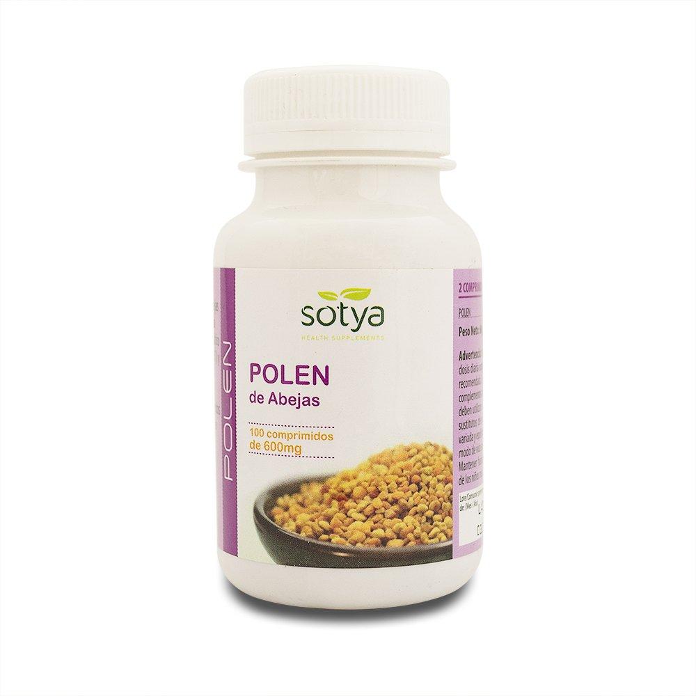 SOTYA - SOTYA Polen 100 comprimidos 600 mg: Amazon.es: Salud y cuidado personal