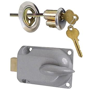 garage door handleIdeal Security Inc SK7160 Garage Door Lock Zinc Plated  Cabinet