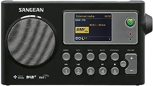 Sangean WFR27CB WFR-27 C - Radio Internet con Dab+, Negro