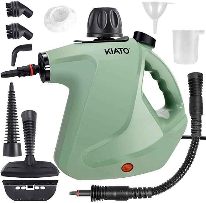 Handheld Steam Cleaner, Steamer for Cleaning, 10 in 1 Handheld Steamer for Cleaning, Upholstery Steamer Cleaner, Car Steamer, Steam Cleaner for Surface Cleaning Home, Sofa, Bathroom, Car seat, Office