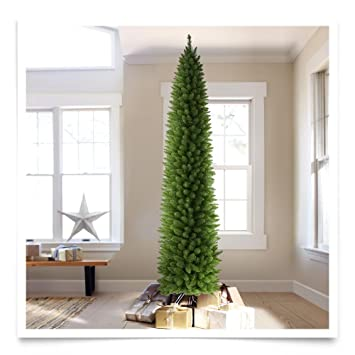 Amazon.com: Treetopia No. 2 Pencil Artificial Christmas Tree, 9 ...