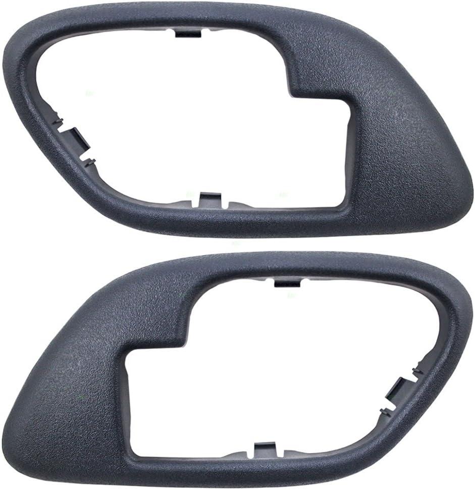 Drivers Inside Inner Blue Door Handle Replacement for Chevrolet GMC Pickup Truck 15708045 by AUTOANDART
