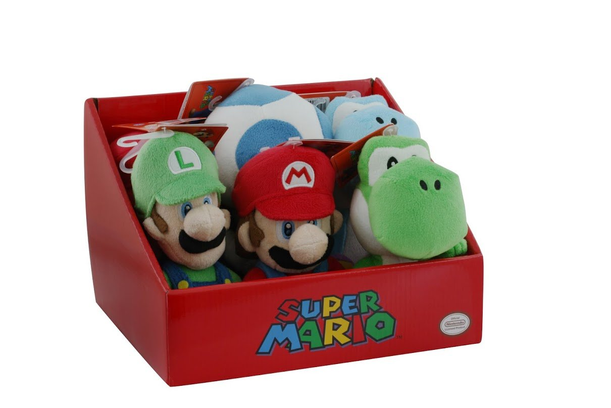 Little Buddy Toys Super Mario Wii 8'' Plush Assortment by Little Buddy Toys
