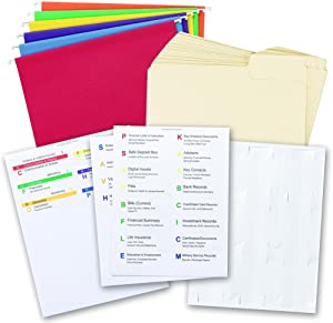 Smead Life Documents Drawer Kit (92015)