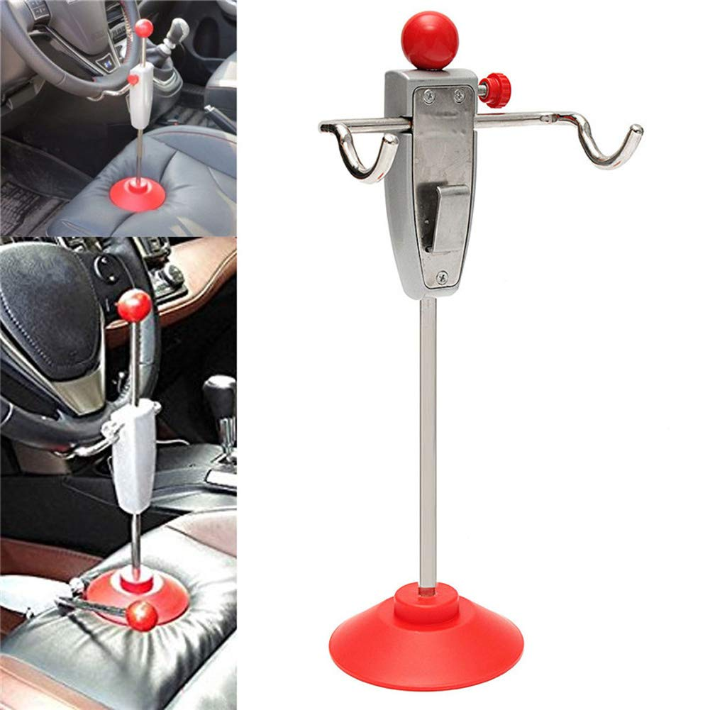 Automarketbiz Car 14.5''/368cm Steering Wheel Holder Stand Tool Wheel Alignment Essential Tool by Automarketbiz