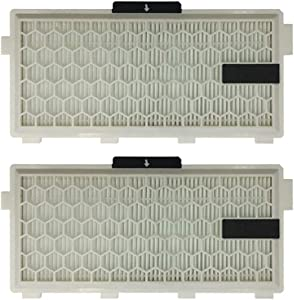 2-Pack Replacement HEPA Filter for Miele S4 S5 S6 S8 C2 C3 Series, Compare to HEPA AirClean SF-HA 50,SF-AA 50,SF-HA 50,SF-AAC 50