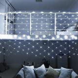 DealBeta Led Net Lights with Remote,9.8ft x 6.6ft