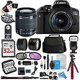 Canon Rebel T6i / 750D Digital SLR Camera Bundles (ULTIMATE Bestselling DigitalAndMore Bundle!)