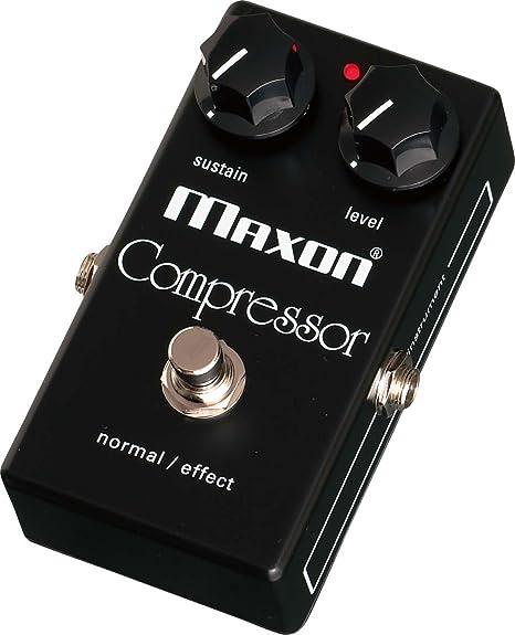 Maxon CP101 Compressor · Pedal guitarra eléctrica