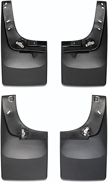 110003-120003 No-Drill Splash Guards Mud Flap Kit Fit For 2004-2014 Ford F-150
