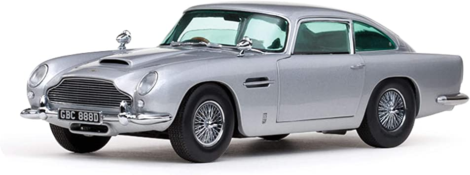 Sun Star Models 1005 Sammlermodell Sun Star Aston Martin Db5 1963 1 18 Aus Metall Silber Grau Amazon De Spielzeug