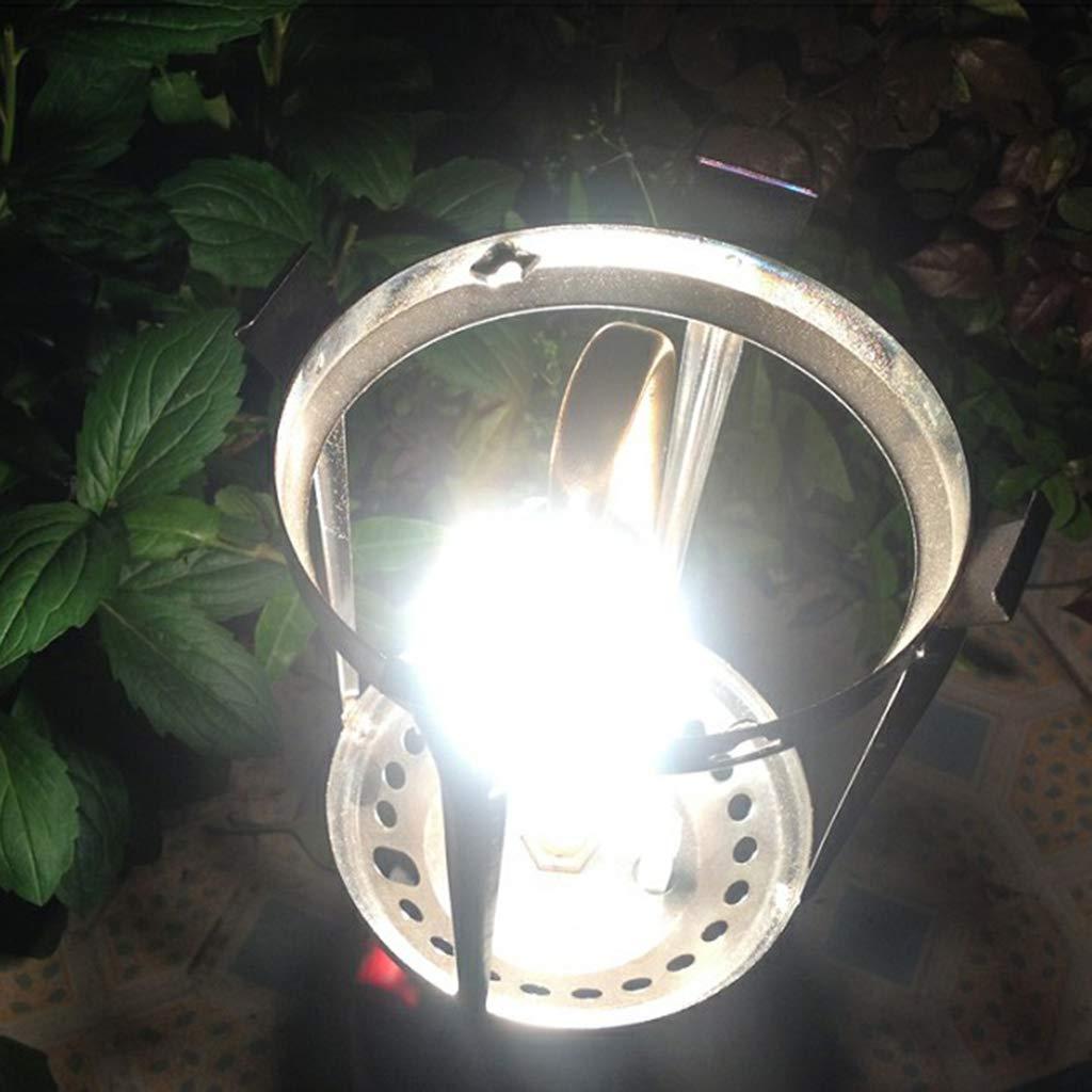 10 x Camping Lampen Laterne Gaslampe Abdeckung P Prettyia 10 St/ück Gl/ühstrumpf f/ür Gaslaterne