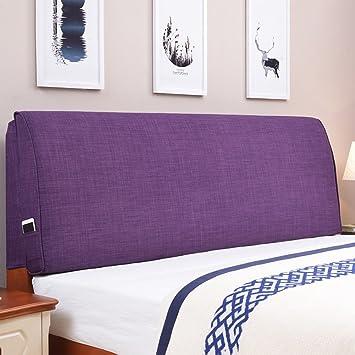 WENZHE Kopfteil Kissen Bett Rückenkissen Rückenlehne Für Bett Bettkeile  Keilkissen Palettenpolster Tuchkunst Dreieckig Softcase Bett Großer