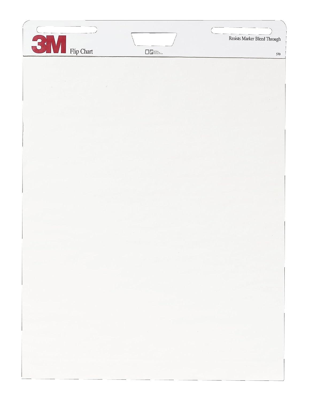Amazon com 3m flip chart 25 x 30 inches white 40 sheets pad