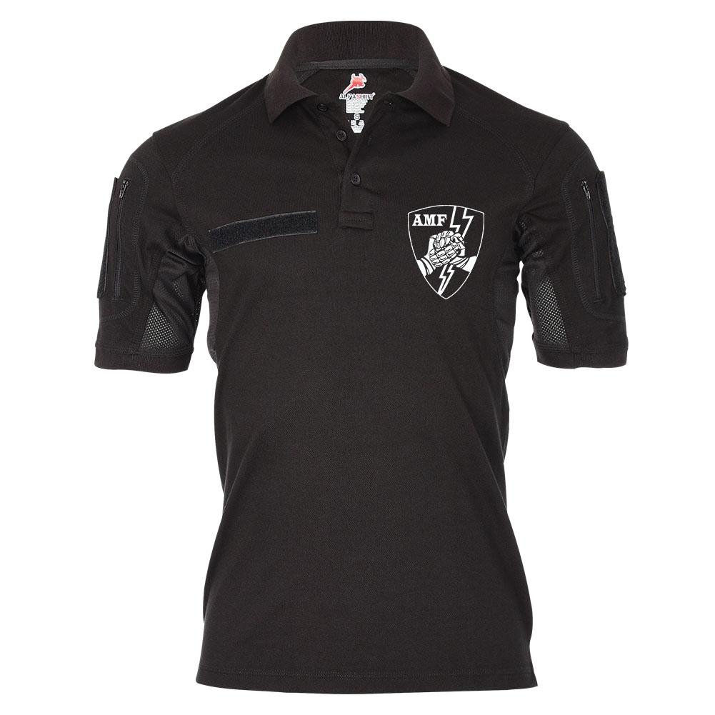 Tactical Poloshirt Alfa AMF NATO Ace Mobile Force US Army Bundeswehr Militär Wappen Abzeichen Sportshirt  20044