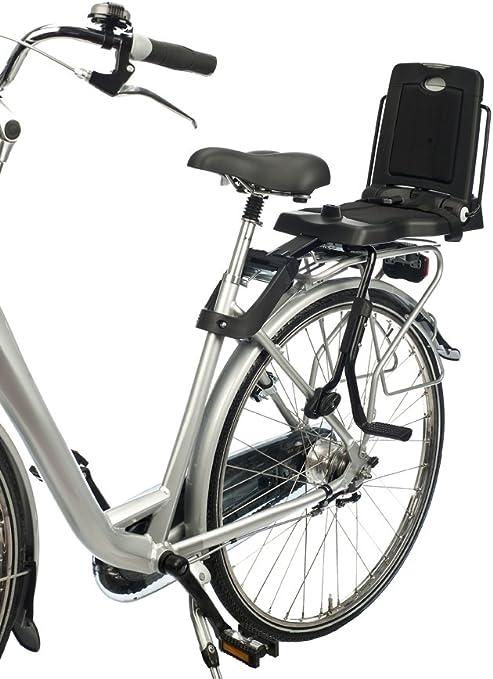 Bike baby seat GO rear mount grey Bobike kids
