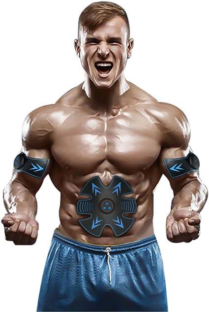 Electric Muscle Training Machine Vibration Fat Burning Exerciser Beauty Body